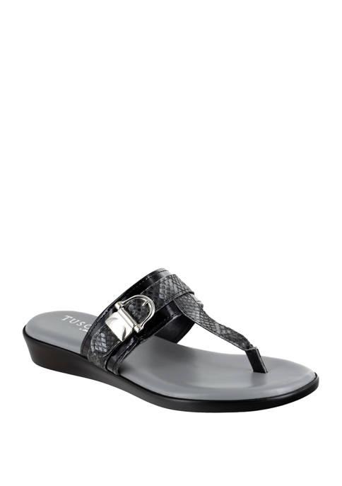 Cadenza Italian Thong Slide Sandals