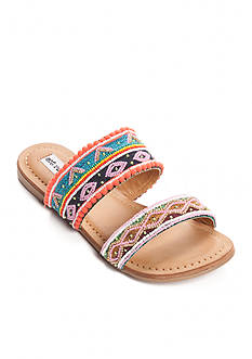 not rated Spira Double Band Beaded Sandal