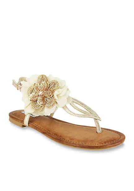 GC Shoes Cheryl Jeweled Flat Sandal AsQWhFQe