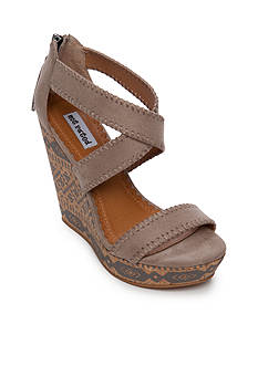 not rated Remi Painted Cork Wedge Sandal