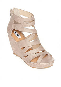 not rated Ci Covered Strappy Wedge Sandals
