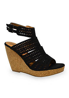 not rated Estelle Perforated Wedge Sandal
