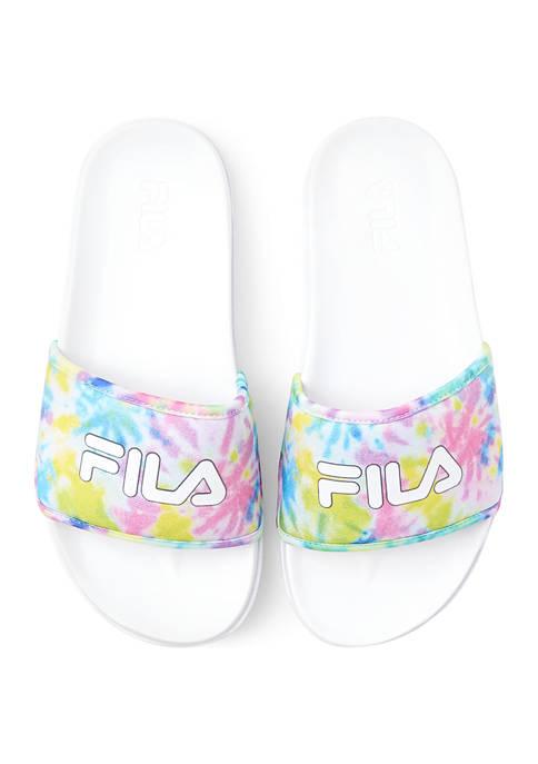 Drifter Lux Tie Dye Slide Sandals