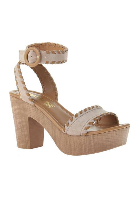 Bruh Heeled Sandals