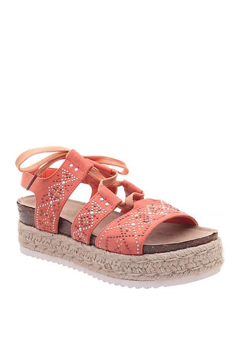 MADELINE GIRL Dream On Platform Espadrille Sandals