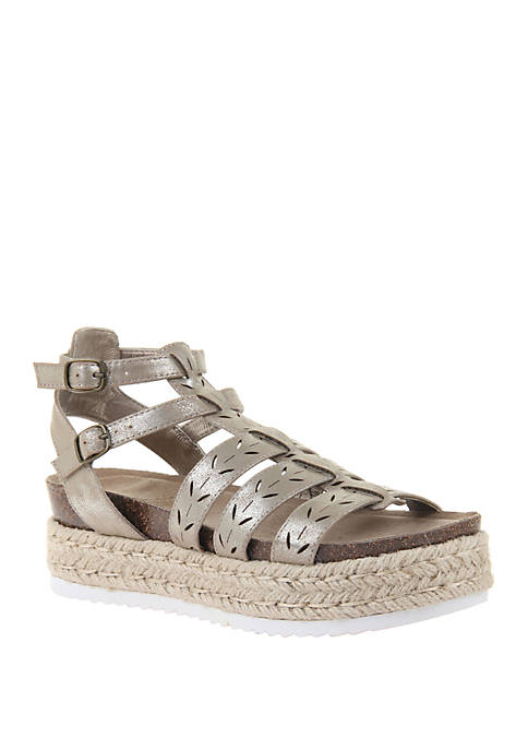 Kindred Espadrille Platform Sandal