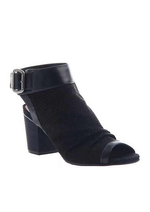 MADELINE GIRL Sassitude Perforated Heeled Sandals