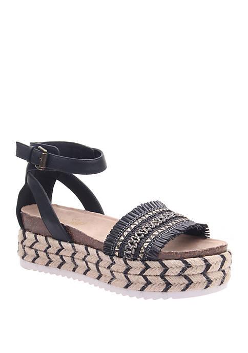 MADELINE GIRL Sphinx Espadrile Platform Sandal