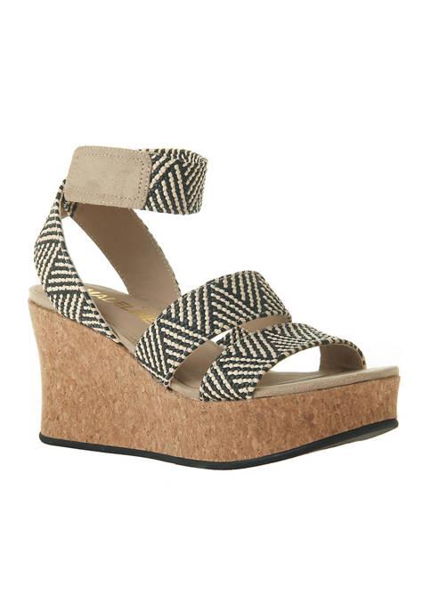 MADELINE GIRL Swole Platform Wedge Sandals