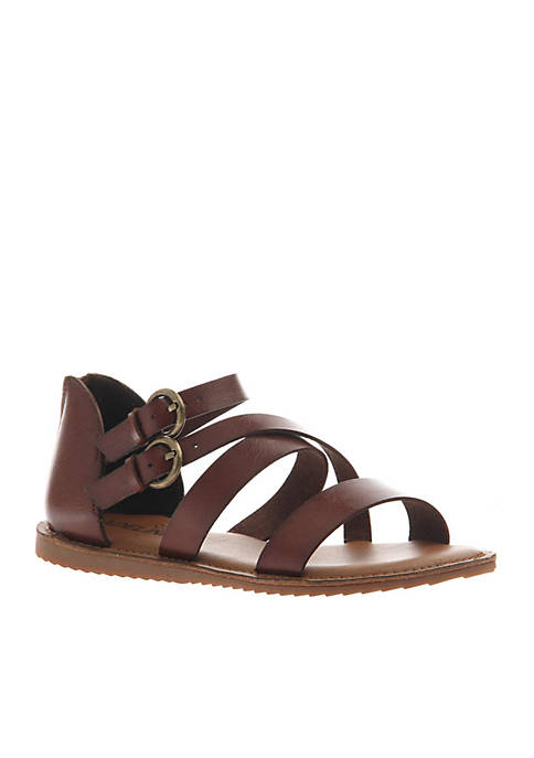 MADELINE GIRL Wild Child Strappy Zip Back Sandal