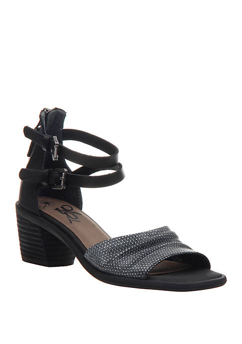 Boarder Heeled Sandals