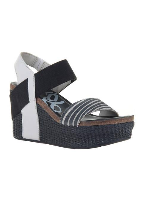 Bushnell Platform Wedge Sandals