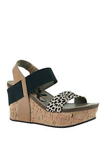 cca9daf00f5 Korks Yanidel Sandals · OTBT Bushnell Platform Wedge Sandals