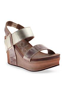 OTBT Bushnell Platform Wedge Sandals