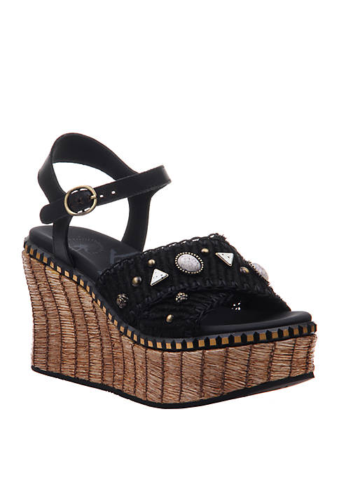OTBT Cahoot Platform Wedge Sandals