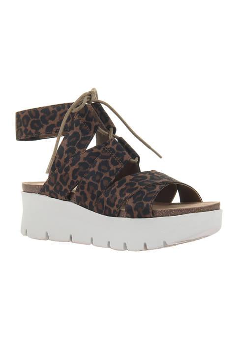 California Platform Sandals