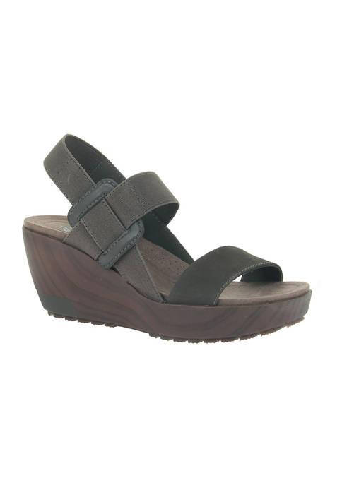 OTBT Cleah Platform Wedge Sandals