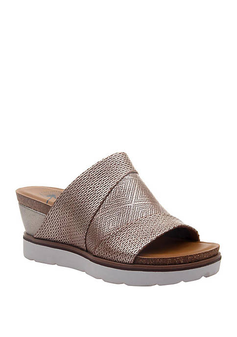 OTBT Earthshine Sport Bottom Wedge Sandals