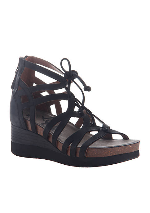 OTBT Escapade Caged-In Wedge Sandals