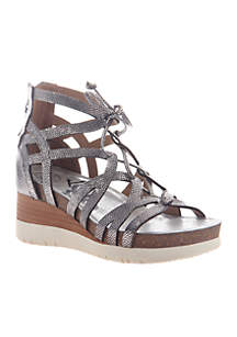 Escapade Caged-In Wedge Sandals