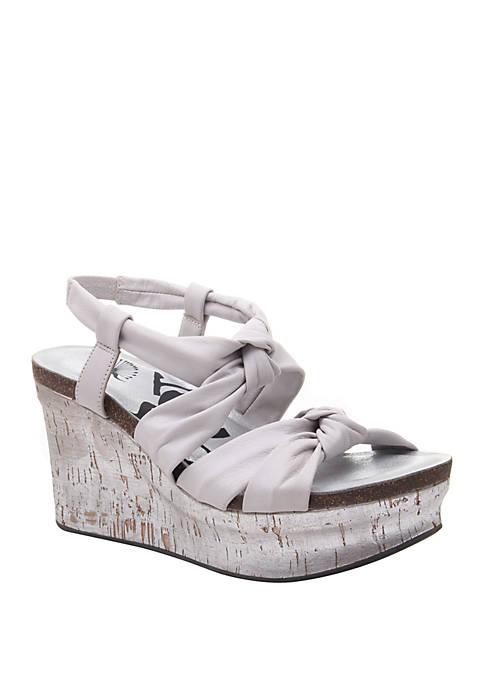 Far Side Platform Wedge Sandals