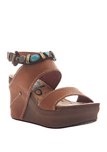 OTBT Layover Platform Wedge Sandals