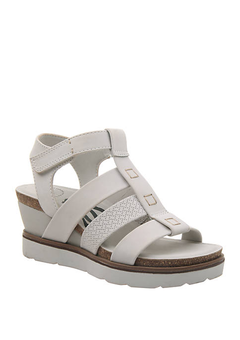New Moon Platform Wedge Sandals