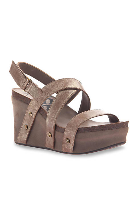 Sail Strappy Wedge
