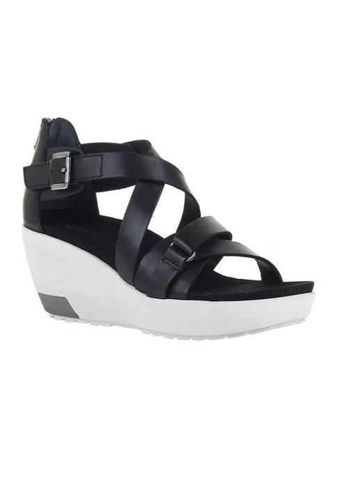 Teresa Platform Wedge Sandals