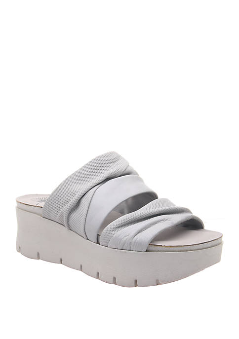 OTBT Weekend Platform Wedge Slides