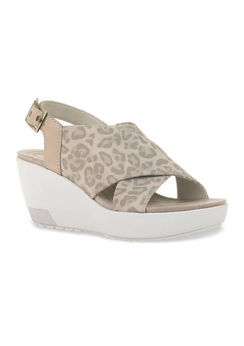 Yvonne Platform Wedge Sandals