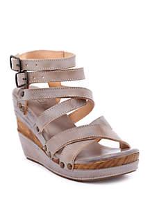 Bed Stu Juliana Strappy Wedge Sandals