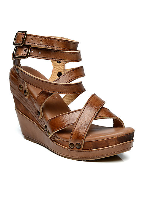 Bed Stu Juliana Strappy Wedge