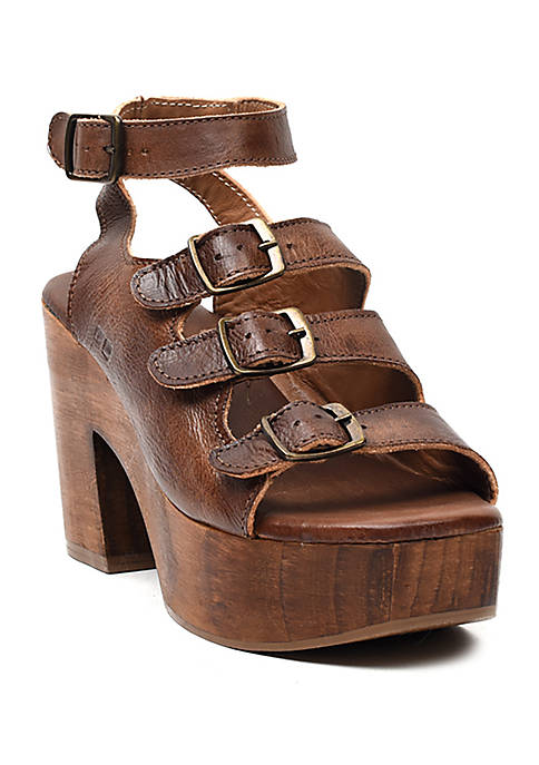 Bed Stu Jordyn Wooden Platform Sandals