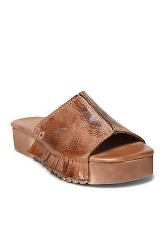 Bed Stu Fairlee Slide Wedge Sandals