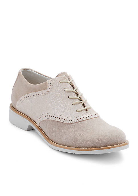 G.H. Bass & Co. Dora Saddle Shoe