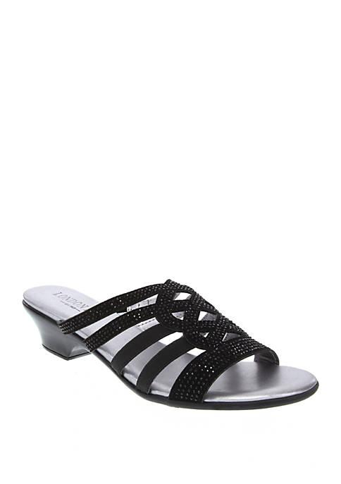 Ellen Demi Wedge Sandals