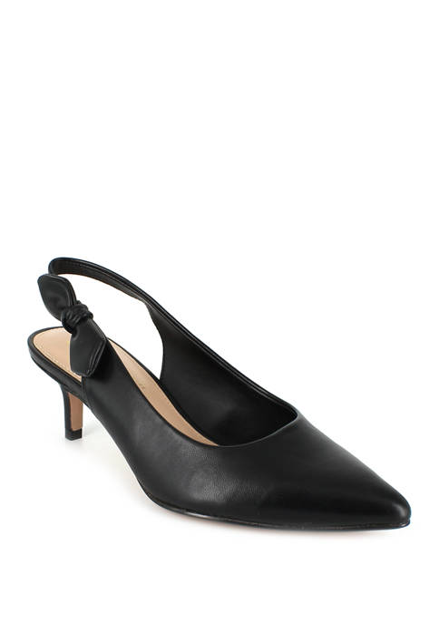 Harlow Pointed Toe Slingback Pumps