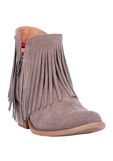 Dingo Jerico Fringed Booties