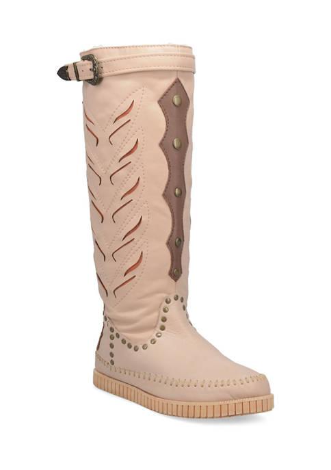 Dingo Mohawk Suede Moccasin Boots
