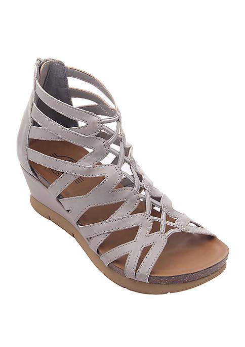 Farrin Wedge Sandals