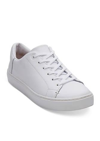 TOMS® White Leather Women's Lenox Sneaker O3bHh7AM2