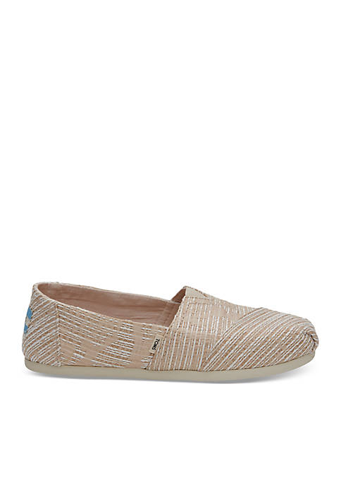 TOMS® Oxford Abstract Jacquard Women's Alpargata