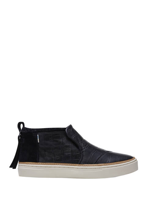 Paxton Fur Trim Sneakers
