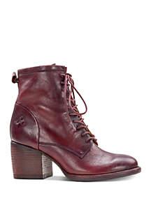 Patricia Nash Sicily Lace-Up Combat Boots