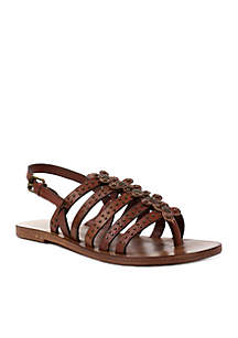 Erba Strappy Flat Sandal