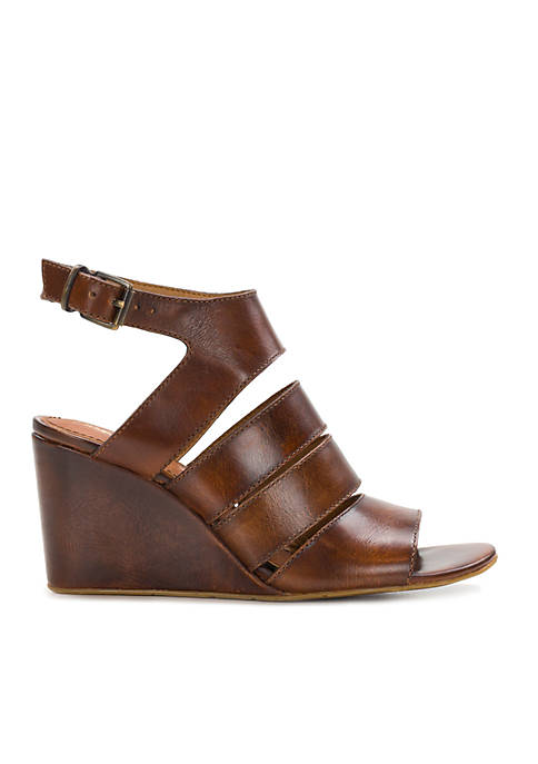 Korina Strappy Wedge Sandals