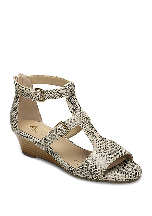 A2 by Aerosoles Applause Wedge Sandals