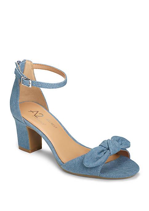 31f50314812e A2 by Aerosoles Bella Bow Strappy Sandals