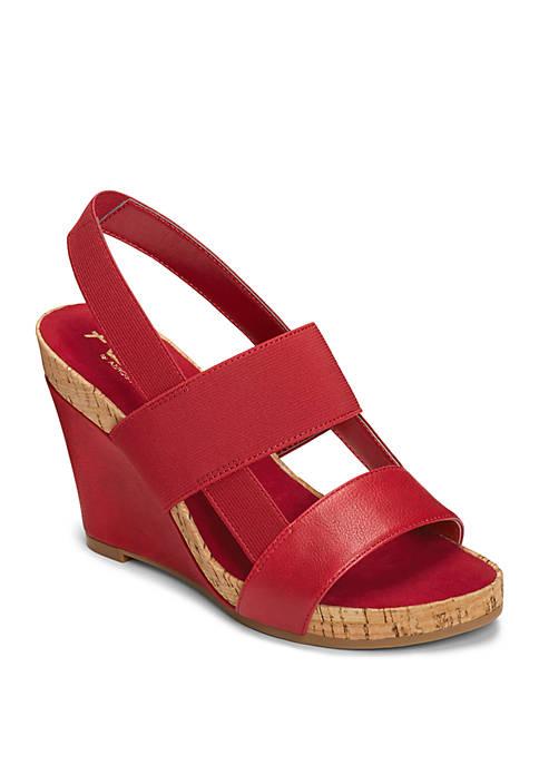 A2 by Aerosoles Bone Plush Caged Sandals